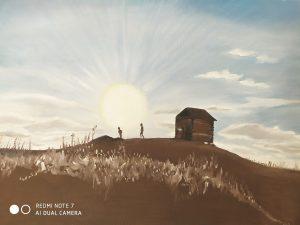 ציור מתעורכת השלכות גליה קפלן
