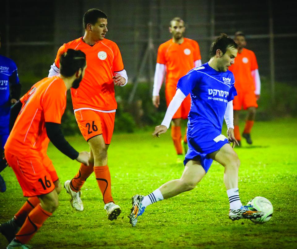 כדורגל במרום הגליל
