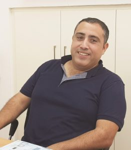יניב ויצמן מנהל אגף חינוך וקהילה בעמק המעיינות