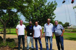 כינוס מנהלים בצמח מפעלים ומשקי עמק הירדן