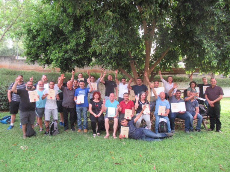 הקורס ה 4 לניהול רפת הסתיים ודור צעיר הוכשר להמשיך את הענף שלנו