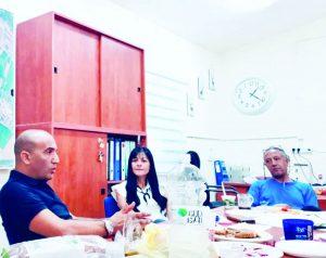 עמית בישיבה ביינון