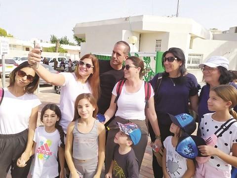 אנשי חוף אשקלון בירושלים