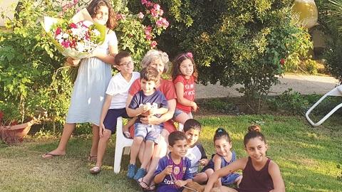 הנכדים במשפחת פולד מנתיב העשרה