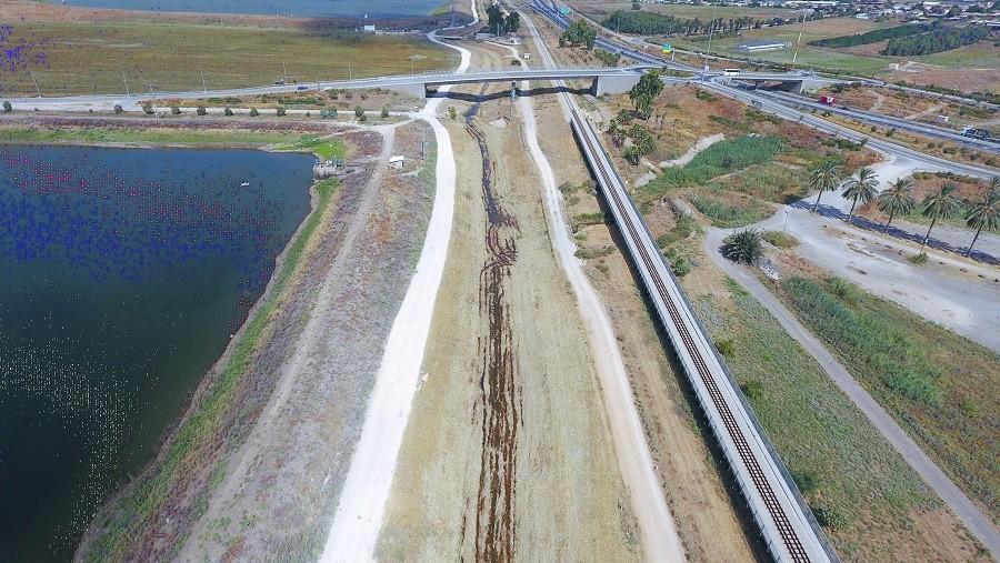 עבודות בסמוך לנחל חרוד