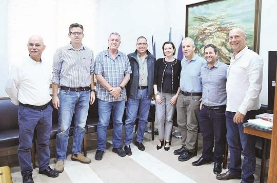 ראשי הרשויות וראש עיריית חיפה