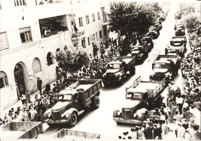 הלוויה של חללי גוש עציון בירושלים