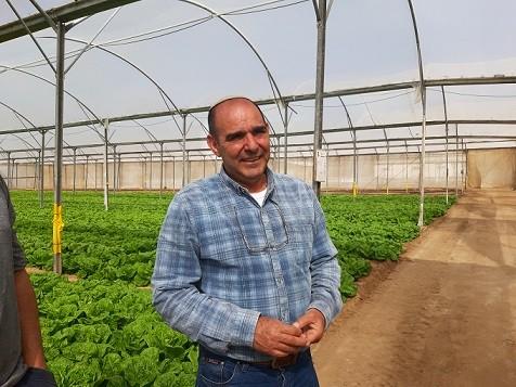 דוד בן סעדון חקלאי מבאר גנים