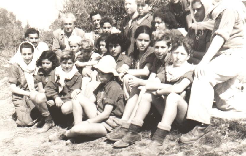 ילדי אילה בטיול עם ציפקה אפרת