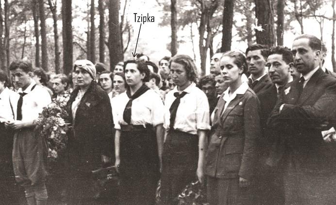 ציפקה אפרת במפקד שומרי בפולין שנות העשרים