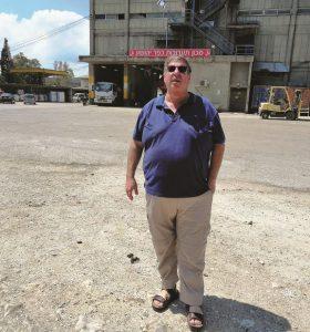 שייקה ליד מכון התערובת של כפר יהושע