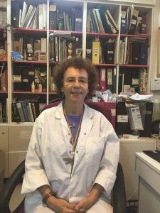 דר ויקי סורוקר במעבדה