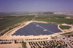 שדה סולארי במשמר הנגב צילום EDF EN ישראל