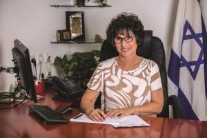 אילנה נולמת מנהלת המינהל לחינוך התיישבותי