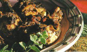 עוף בזעתר בניחוח שום שמן זית ולימון