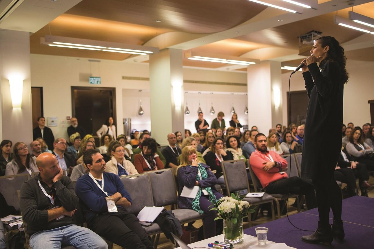 הרצאה במסגרת פה ריפריה צילום אמיר בוחניק