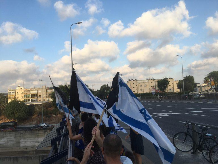 מחאת הגשרים גשר לה גארדיה תל אביב