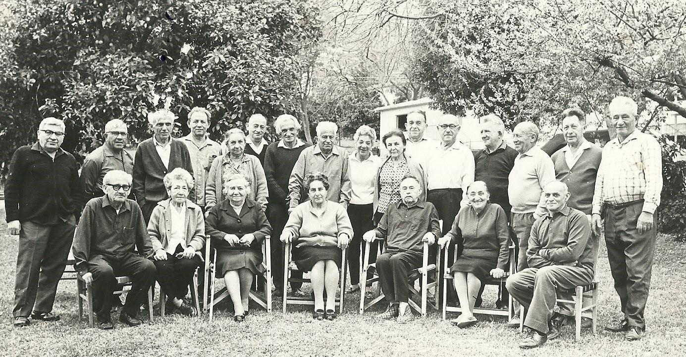 דור המייסדים של הקיבוץ