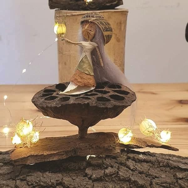 הקסם ביצירת פיות של בת יער צילום מיכל ברגר