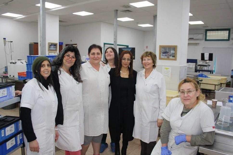 עובדות המעבדה המרכזית בהתאחדות – עושות עבודה חשובה ומקצועית