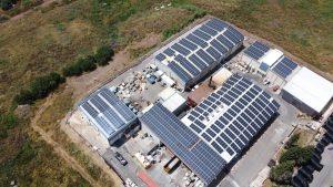פרויקט סולארי של אנרפוינט על גגות