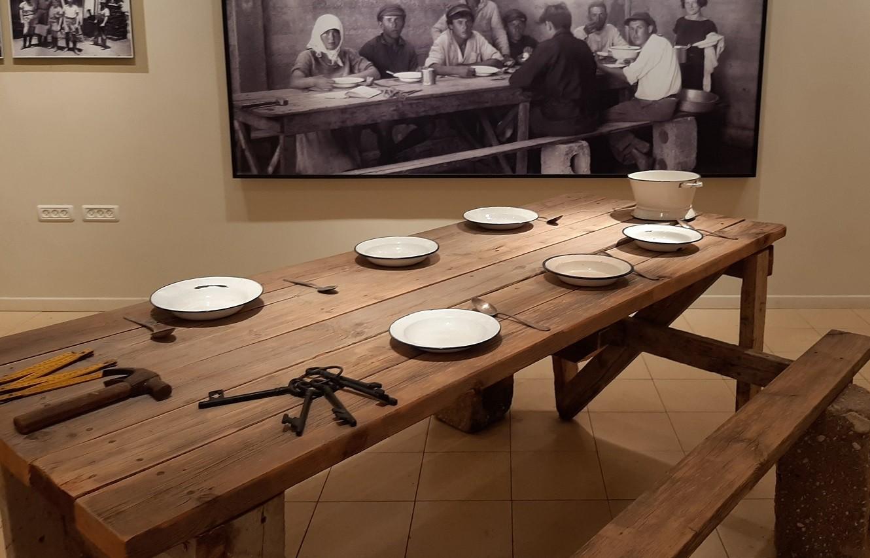 צילום חדר אוכל ושחזור מדויק של השולחן