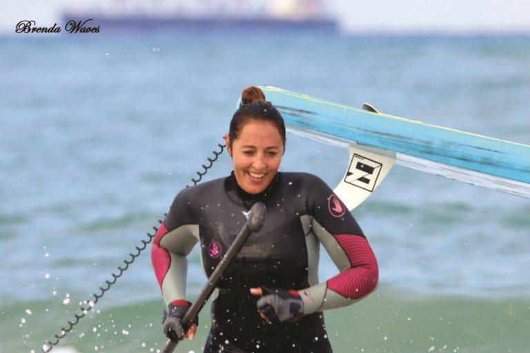 לימור צוקרון צילמה ברנדה ברגר ממועדון הגלישה WAVES