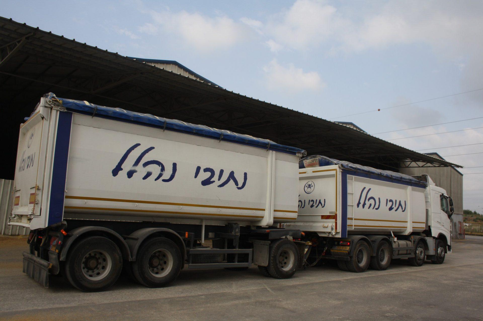 נתיבי נהלל משאית