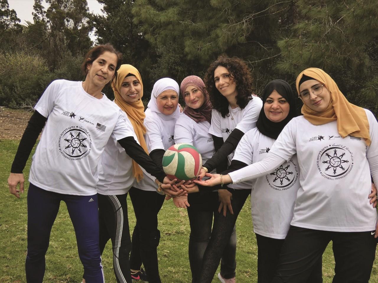 שחקניות הליגה לידידות בתרבות ובספורט
