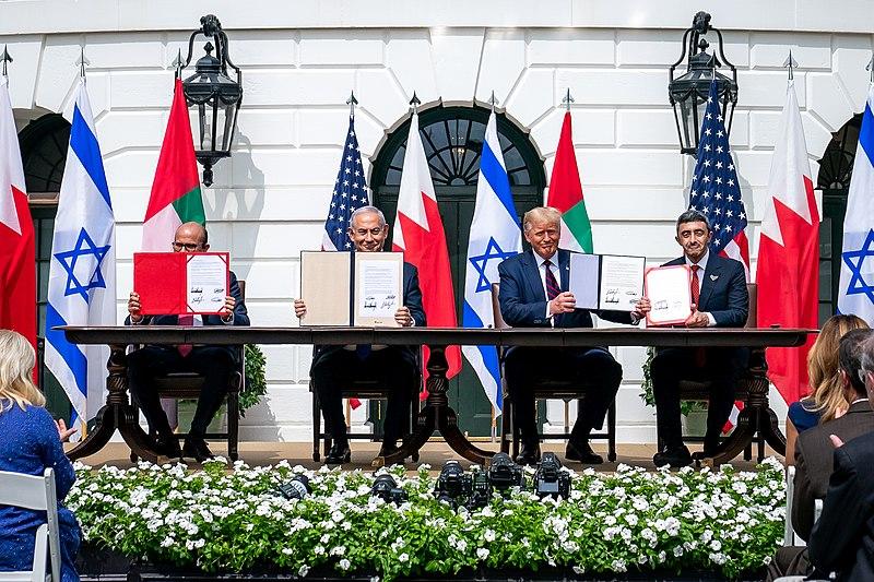 הסכם השלום עם מדינות ישראל איחוד האמירות הערביות ממלכת בחריין