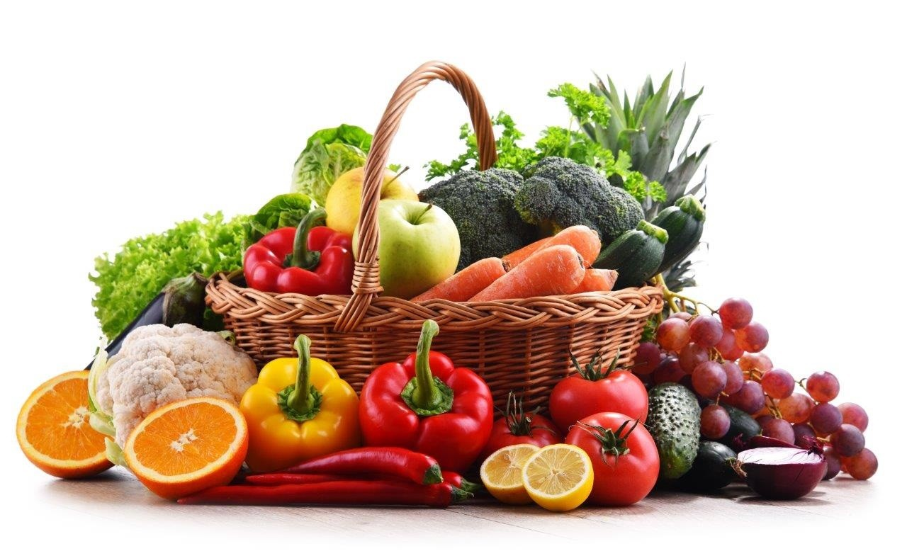 shutterstock סל פירות וירקות חקלאי גרנות צילום