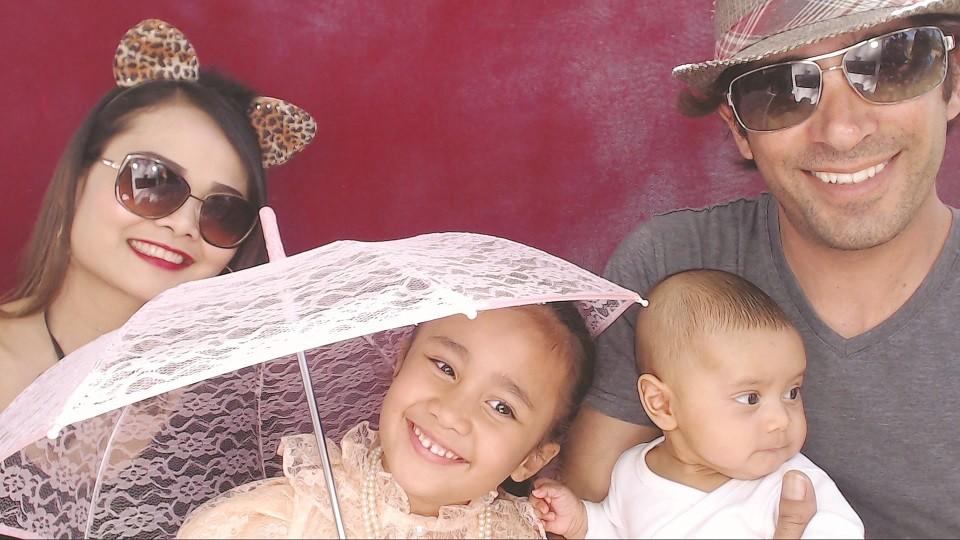 אמרי ופריי והילדות. צילום משפחת שחר
