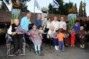הניה רבינוב הלכה לעולמה קיבוץ שער הגולן