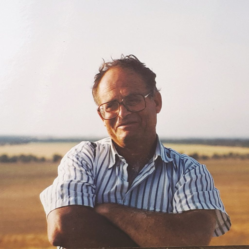 אהוד דיין בצעירותו התאהבתי בחבל ארץ הדרומי