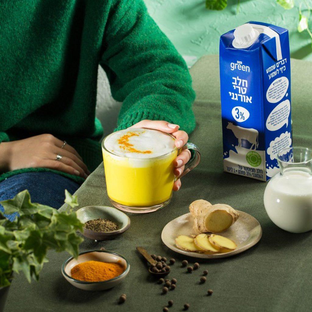 חלב אורגני נמכר במחירים סבירים שקורצים לחובבי הפרימיום הבריאותי