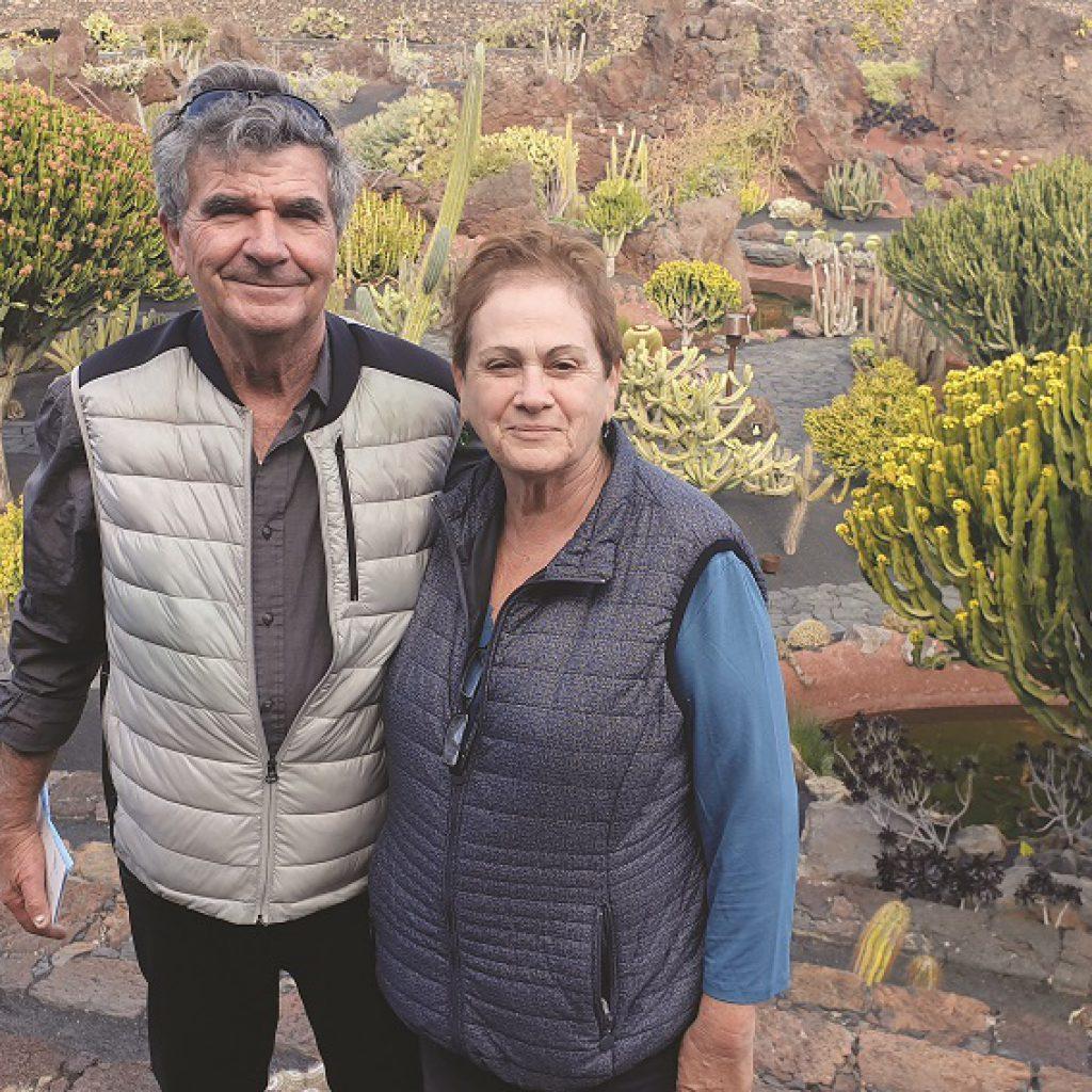 יוסי בודניק ורעייתו רבקה