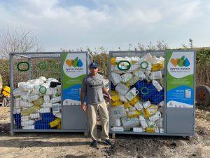 מחזור מכלי פלסטיק