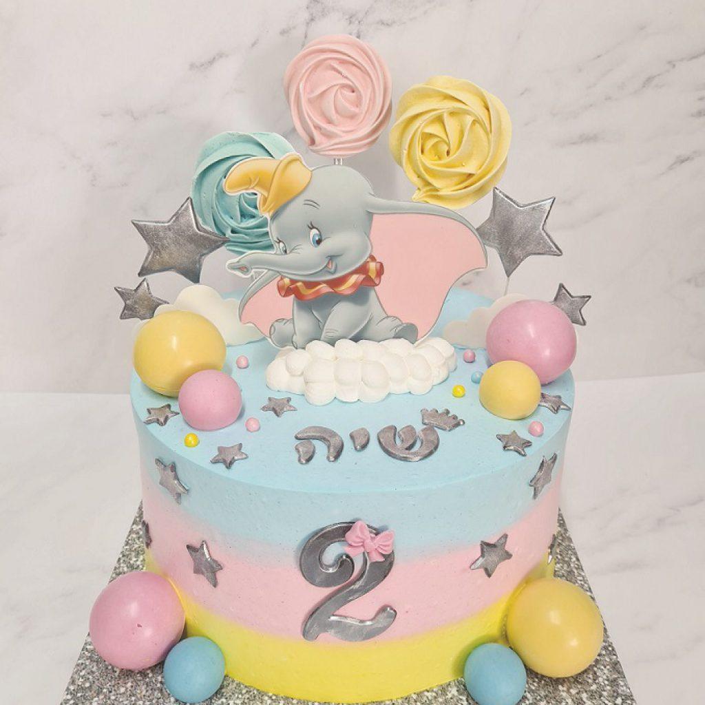 עוגה מעוצבת לגיל שנתיים של ענבל סיבוני .