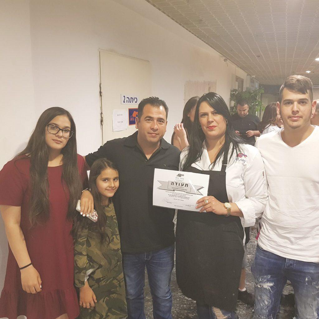 ענבל סיבוני בעלה רמי והילדים מהאלבום המשפחתי