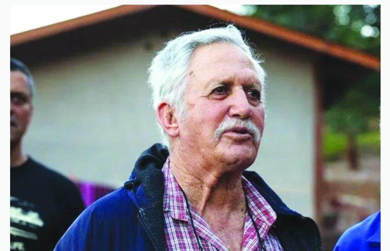 יגאל חסקין בגיל שמונים צילום גילי חסקין