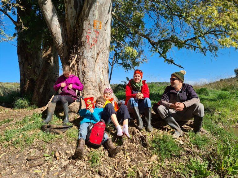רחל שריד ומשפחתה