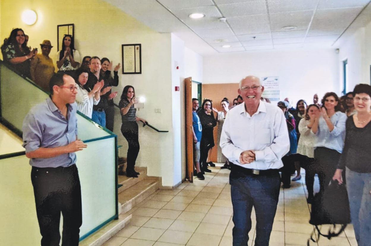 מסיבת סיום כהונתו של מוטי דלגו