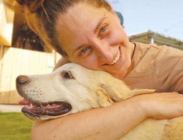 נעה גלבוע והכלבה אליס