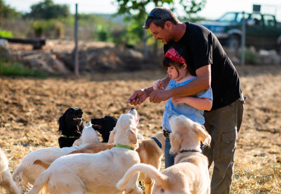 שבילים מרכז לכלבנות טיפולית