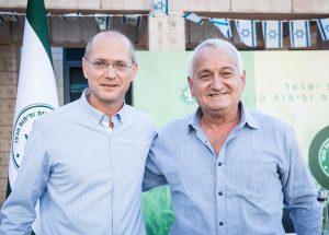 שר החקלאות היוצר אלון שוסטר שר החקלאות הנכנס עודד פורר
