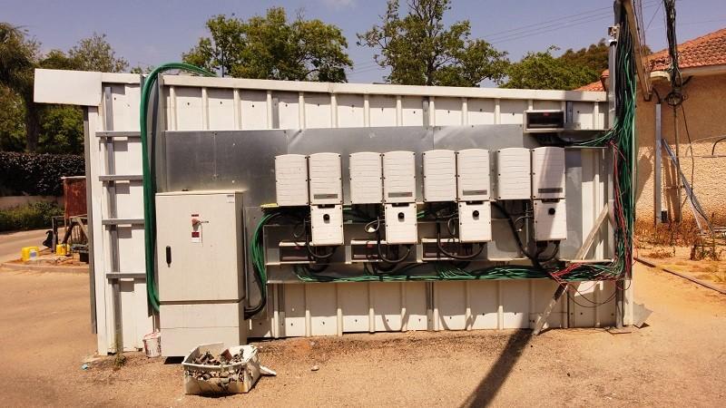מתקנים סולאריים תחנות הדלק