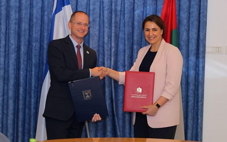 שיתוף פעולה של ישראל עם איחוד האמירויות הערביות בתחום החקלאות