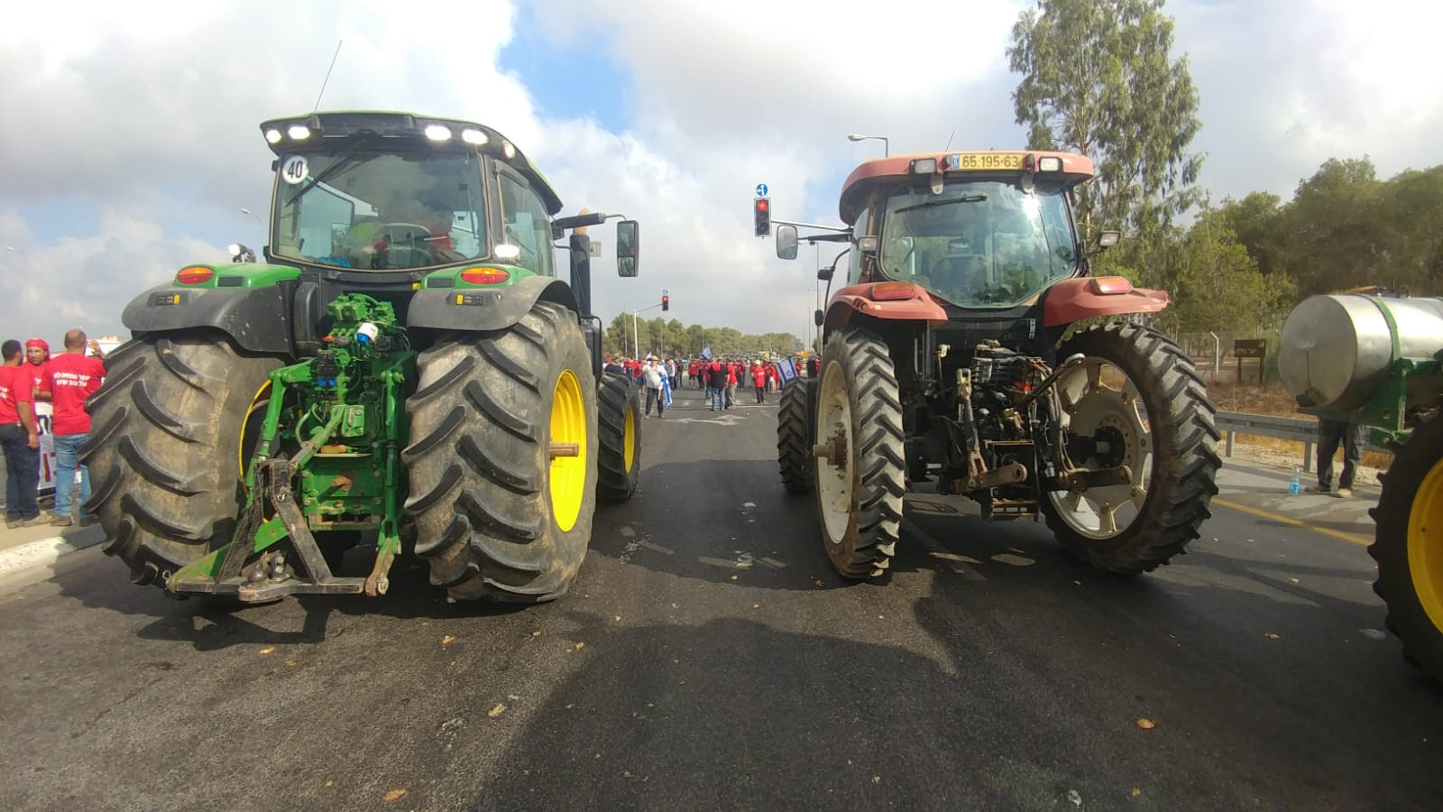 הפגנת חקלאים