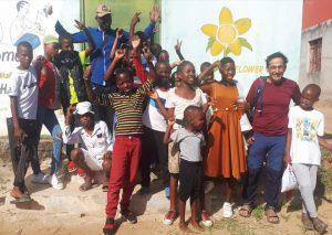 התנדבות בבית ספר באפריקה