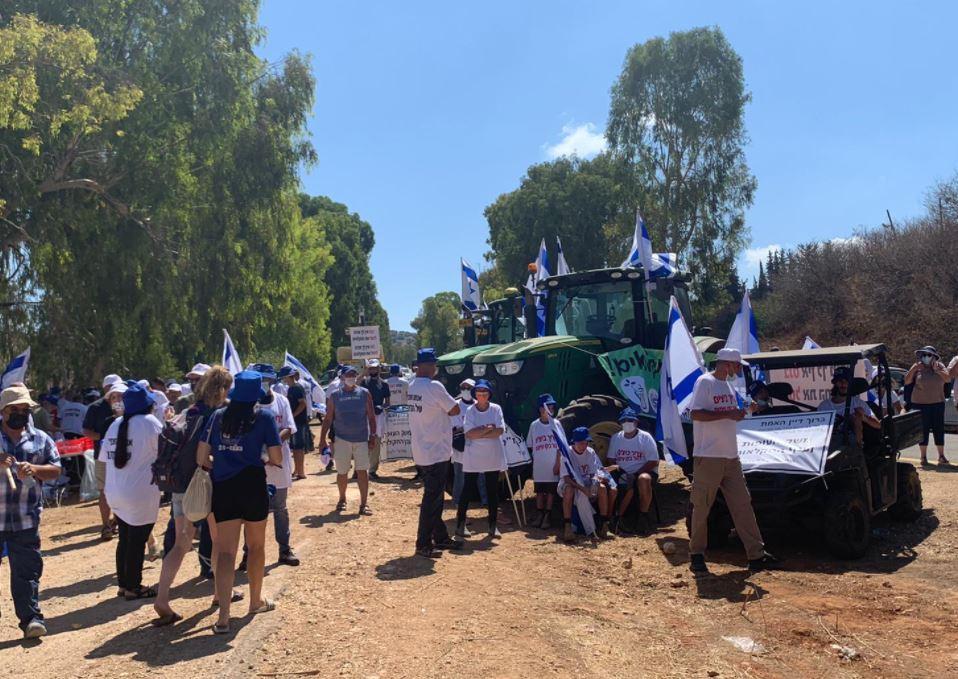 חקלאים מפגינים נגד הרפורמה של משרד האוצר והחקלאות יבול שיא